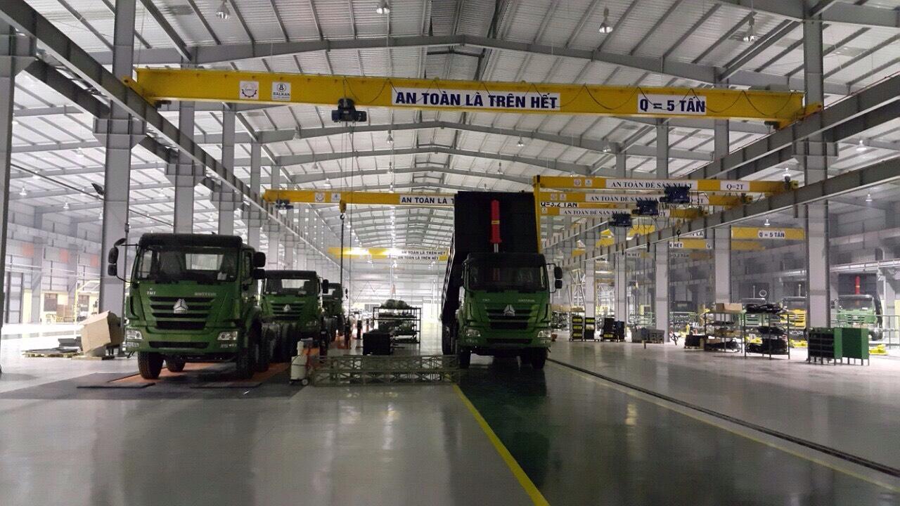 Dự án nhà máy lắp ráp ô tô hạng trung TMT